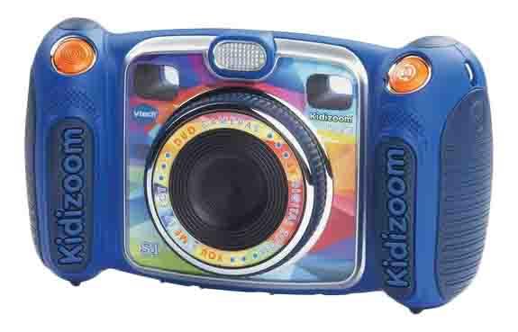 Интерактивная игрушка VTech Kidizoom Duo голубая фото