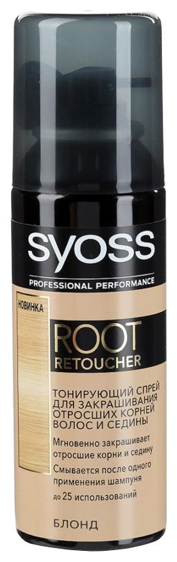 Тонирующий спрей Syoss Root Retoucher Блонд 120 мл