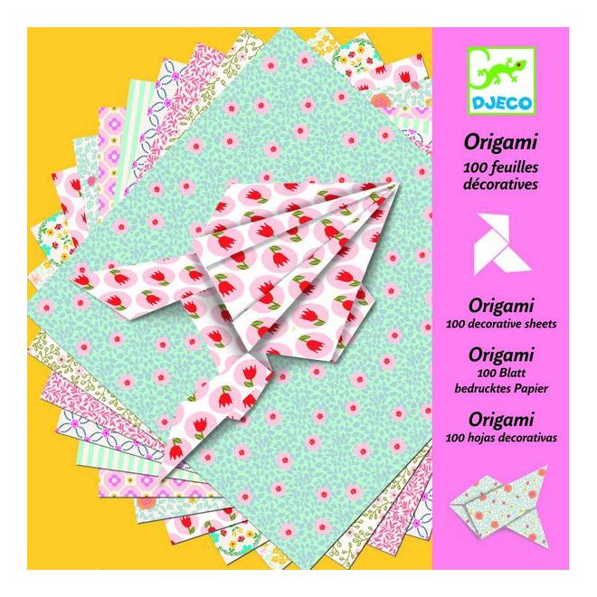 Оригами Djeco Оригами 100 листов  - купить со скидкой