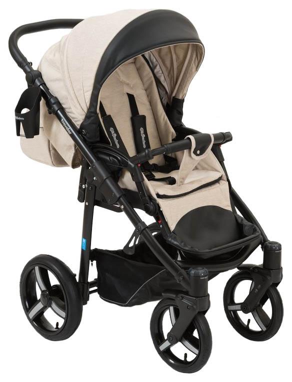 Купить Прогулочная коляска Mr Sandman Traveler Premium SL13 Бежевая, Коляски книжки