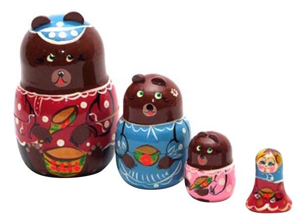 Купить Развивающая игрушка Бэмби 3 медведя, ТД Бэмби,