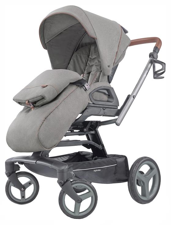 Купить Прогулочная коляска Inglesina Quad Derby Grey, Коляски книжки