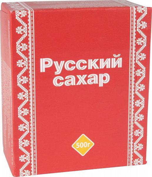 Сахар-рафинад Русский сахар 500 г фото