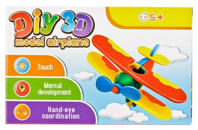 Конструктор пластиковый Shantou Gepai B1641479 Diy 3d самолет фото
