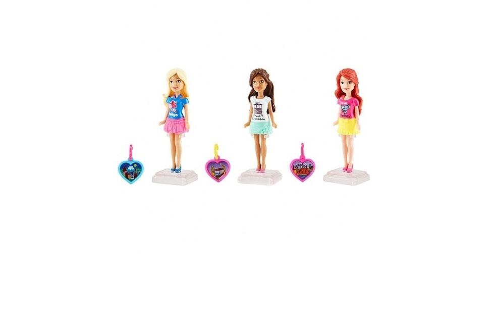 Кукла Barbie FHF02 Мини-куклы путешественники