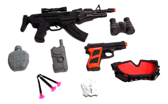 Купить Police set special forces К61641, Игровой набор Police Set Special Forces Shenzhen Toys К61641, Детские наборы полицейского