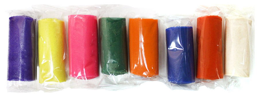 Купить Набор для детского творчества П102, Паста для лепки Ляпсик в коробке 8 цветов П102, Лепка