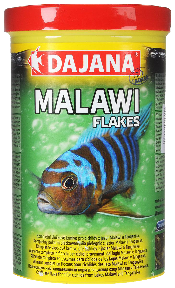 Корм для рыб Dajana MALAWI FLAKES, хлопья,