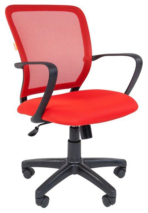 Офисное кресло CHAIRMAN 698 Красный, черный