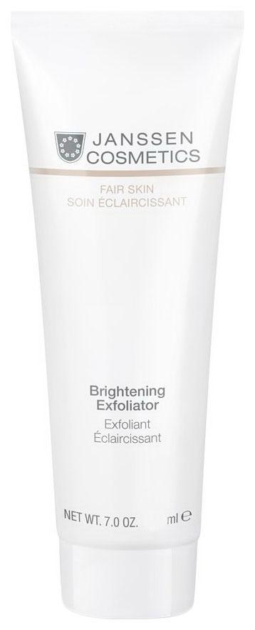 Пилинг для лица Janssen Cosmetics Fair Skin Brightening Exfoliator 50 мл фото
