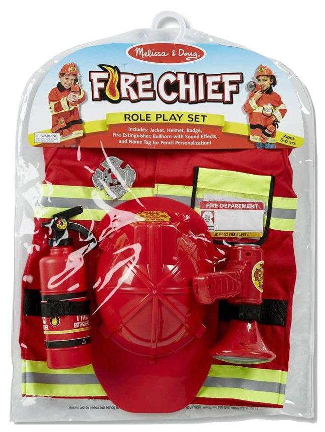Набор пожарного в кейсе Melissa and Doug