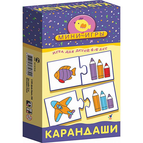 Игра настольная Дрофа, Ми, Карандаши, Семейные настольные игры  - купить со скидкой
