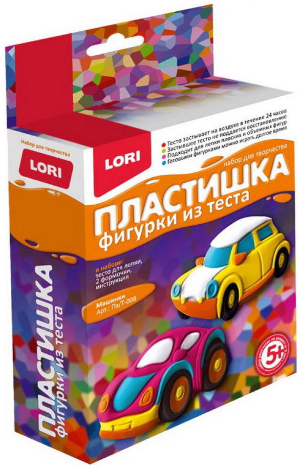 Купить Фигурки из теста Лори Пластишка «Машинки», Lori, Лепка