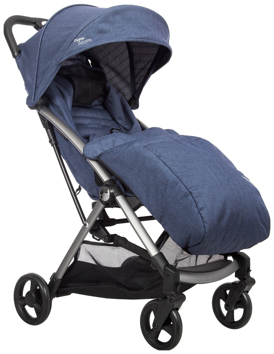 Купить Прогулочная коляска Oyster Atom - Oxford Blue, Коляски книжки