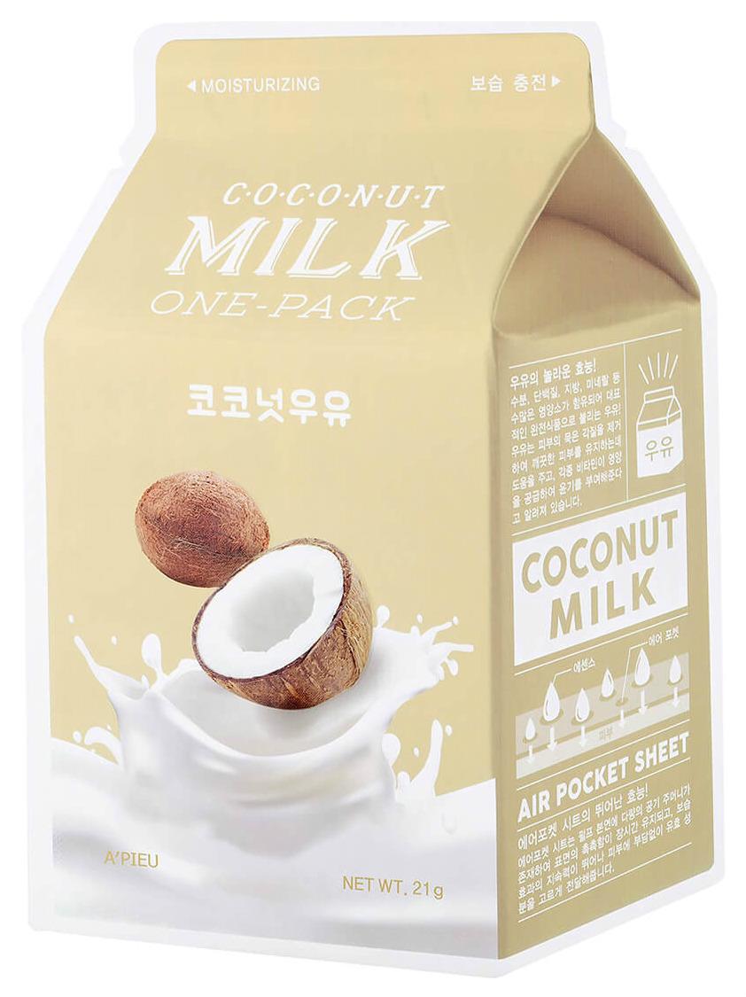 Купить Маска для лица A'pieu Coconut Milk One-Pack 21 г