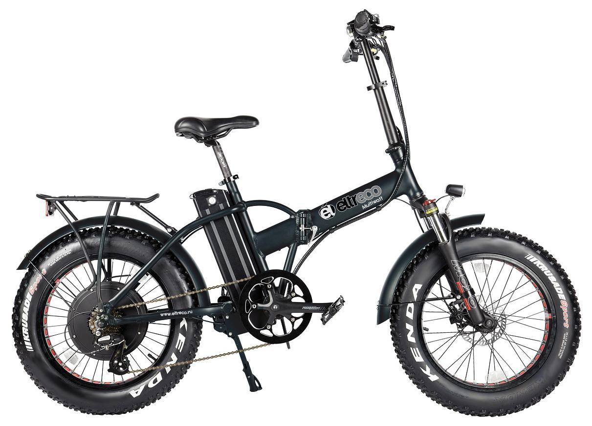 """Электровелосипед Eltreco Multiwatt 2019 22.5"""" черный"""