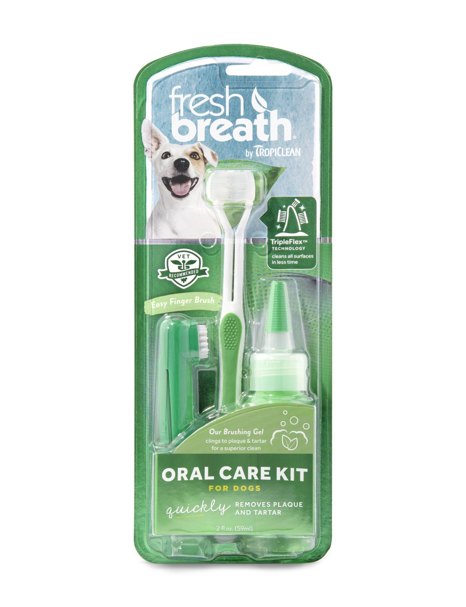 Набор для ухода за зубами собак TropiClean