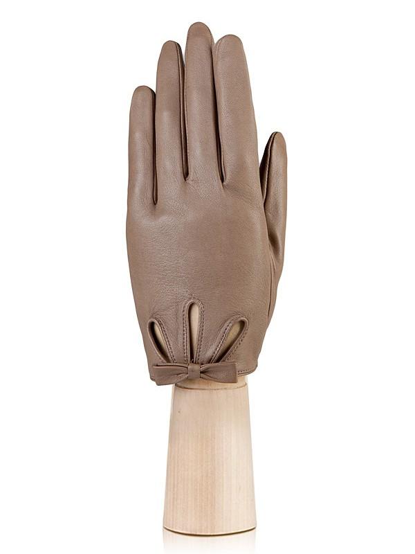 Перчатки женские Eleganzza F-IS0715 коричневые 6.5 фото