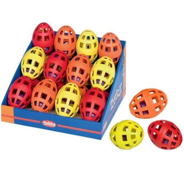 Игрушка для собак Nobby Шарик в мяче, овальный,