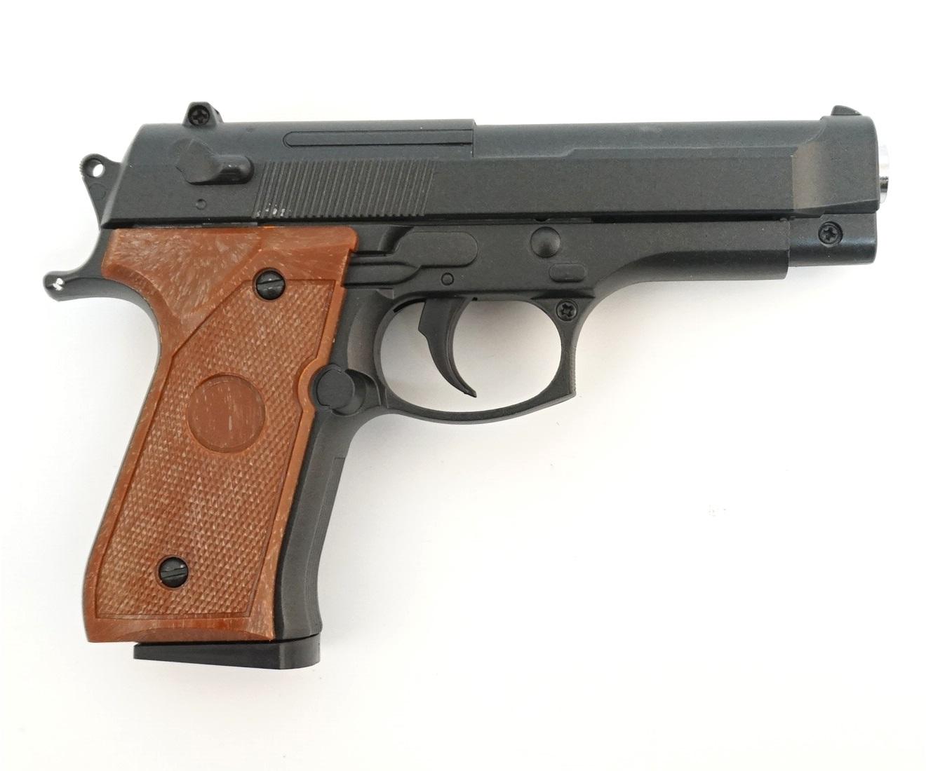 Страйкбольный пружинный пистолет Galaxy Китай (кал. 6 мм) G.22 (мини Beretta 92) фото