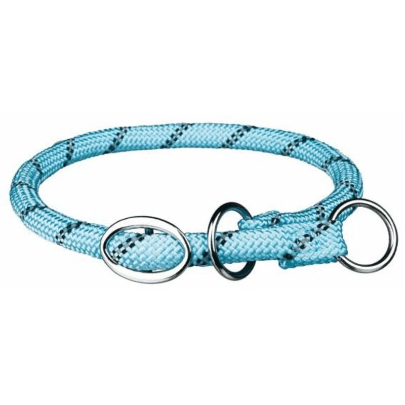 Ошейник-удавка для собак TRIXIE Sporty Rope, синий, 0,8х50 cм