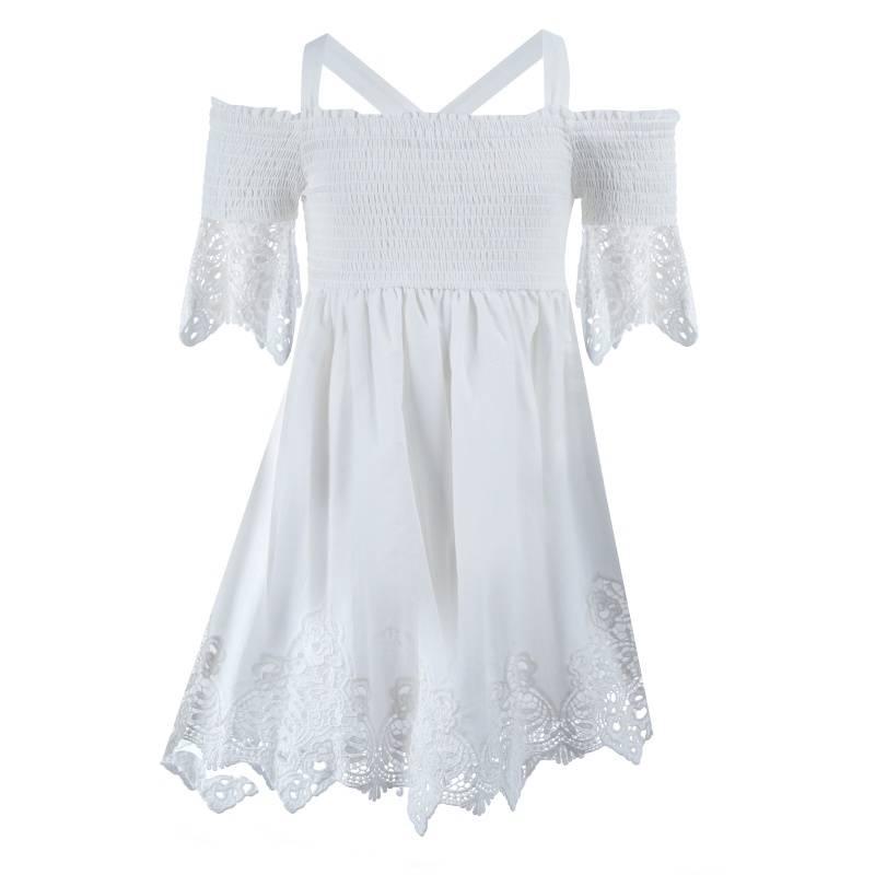 Купить Платье MAYORAL, цв. бежевый, 152 р-р, Детские платья и сарафаны