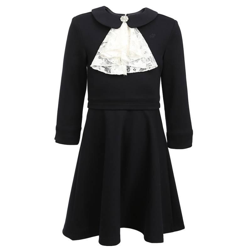 Купить Платье JUNIOR REPUBLIC, цв. темно-синий, 122 р-р, Детские платья и сарафаны