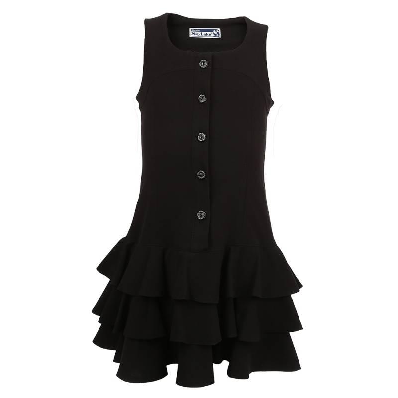 Купить Сарафан SkyLake, цв. черный, 128 р-р, Детские платья и сарафаны
