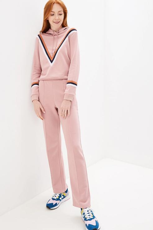 Брюки женские Fashion.Love.Story. 19PF9044PU розовые 44 RU