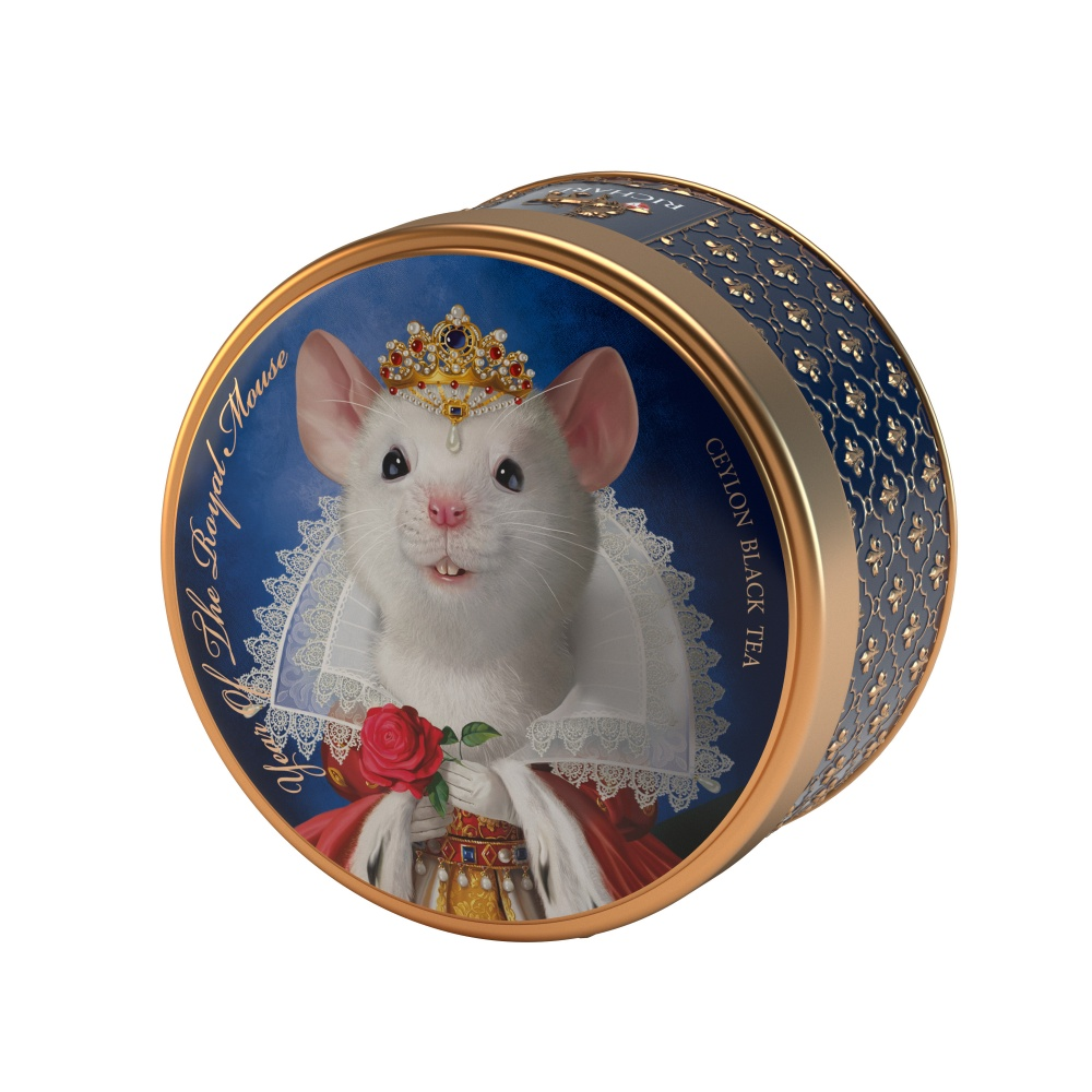 Чай Richard Year of the royal mouse черный листовой 40 г фото