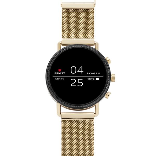 Смарт часы Skagen Falster 2 Black/Gold (SKT5111)