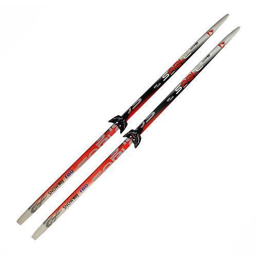 Лыжный комплект 75мм SNOWWAY рост 150, без палок
