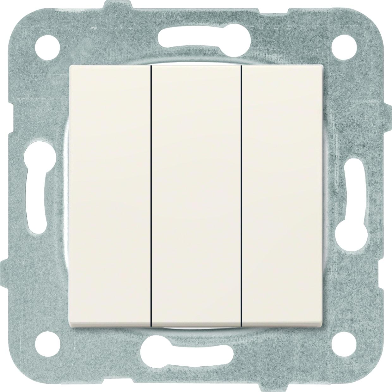Выключатель 3кл крем Karre Plus