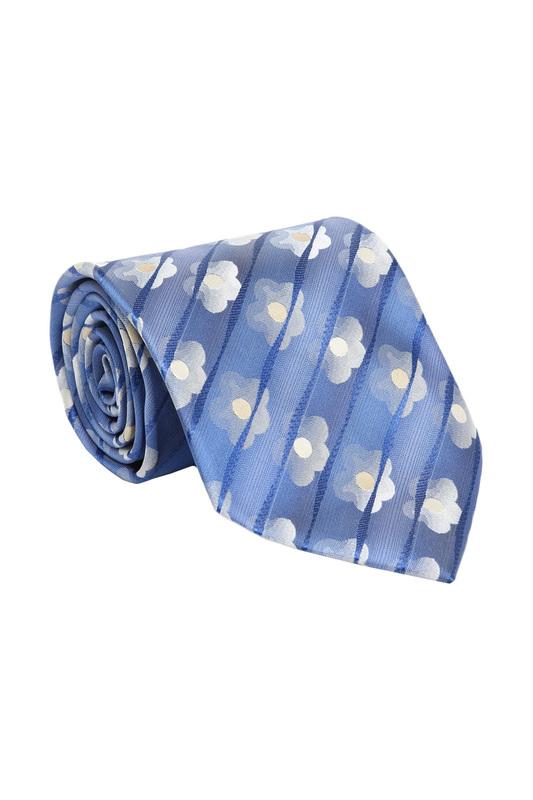 Галстук мужской BANZALINI 30202 синий