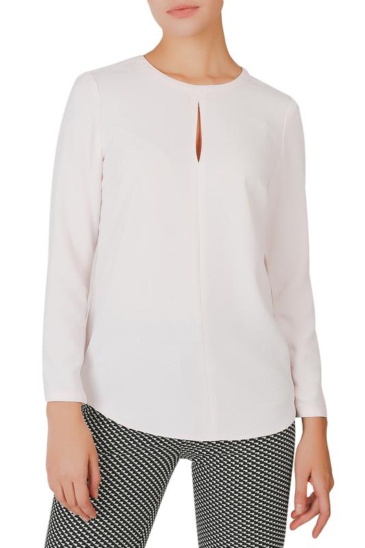 Блуза женская YARMINA 22-J00-2000-1137-U21 розовая 54 RU фото