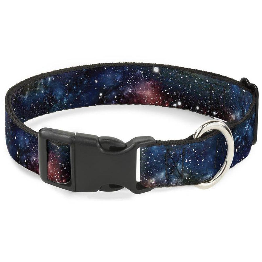 Ошейник для собак Buckle-Down Галактика, с пластиковой застежкой, L, 38-66 см фото