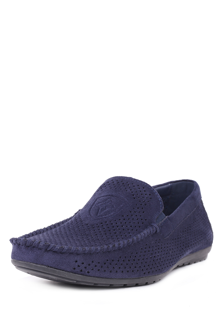 Мокасины мужские T.Taccardi 710017780 синие 45 RU