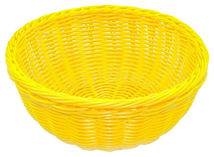 Плетеная корзинка круглая Fissman 7676 24x10 см