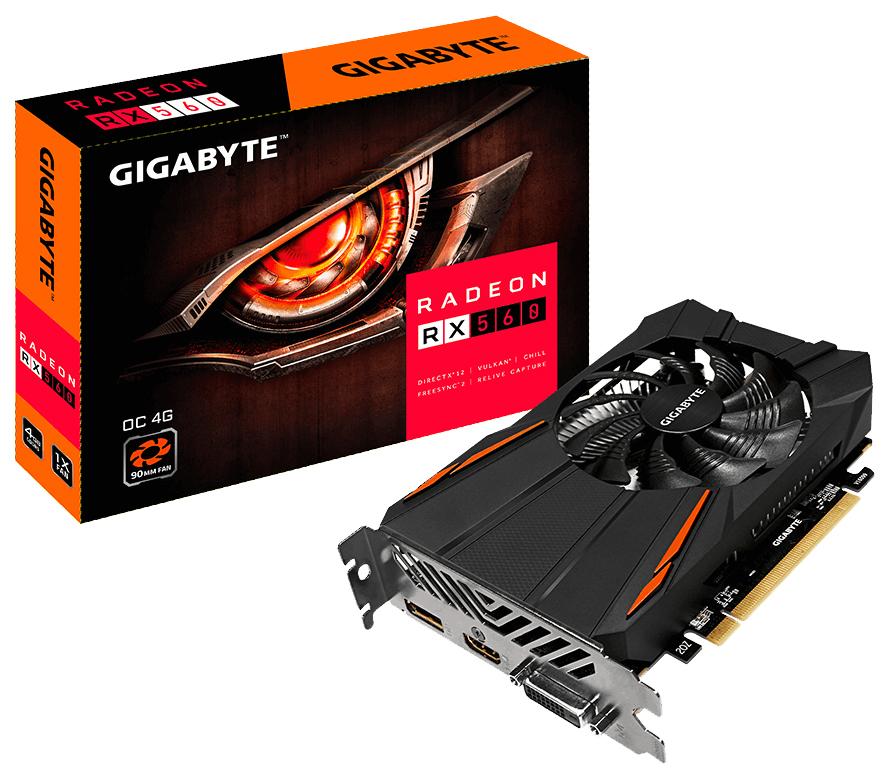 GIGABYTE GV-RX560OC-4GD