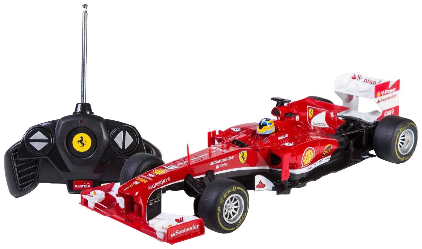 Купить Радиоуправляемая машинка Rastar Ferrari F153800R 27MHZ 1:18 красная, Радиоуправляемые машинки