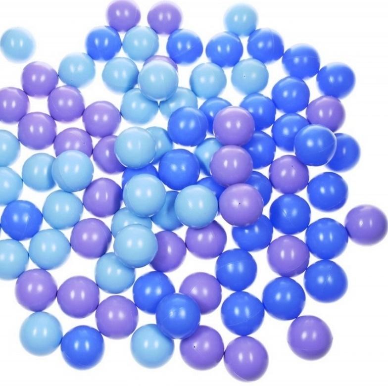 Комплект шариков Ночное небо (100шт: син, голуб,