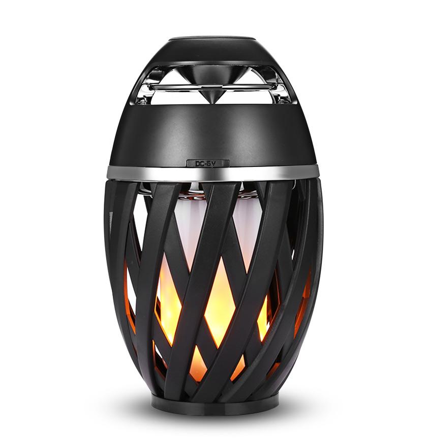 Портативная колонка светильник Flame Light Lamp Bluetooth
