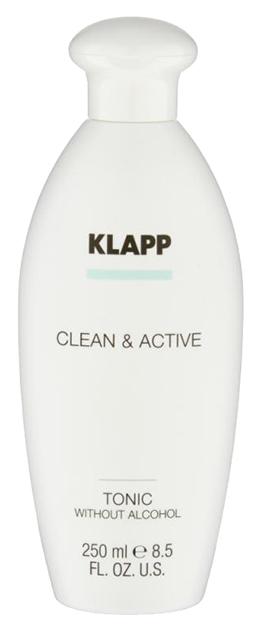 Купить Тоник для лица Klapp Clean & Active Без спирта 250 мл