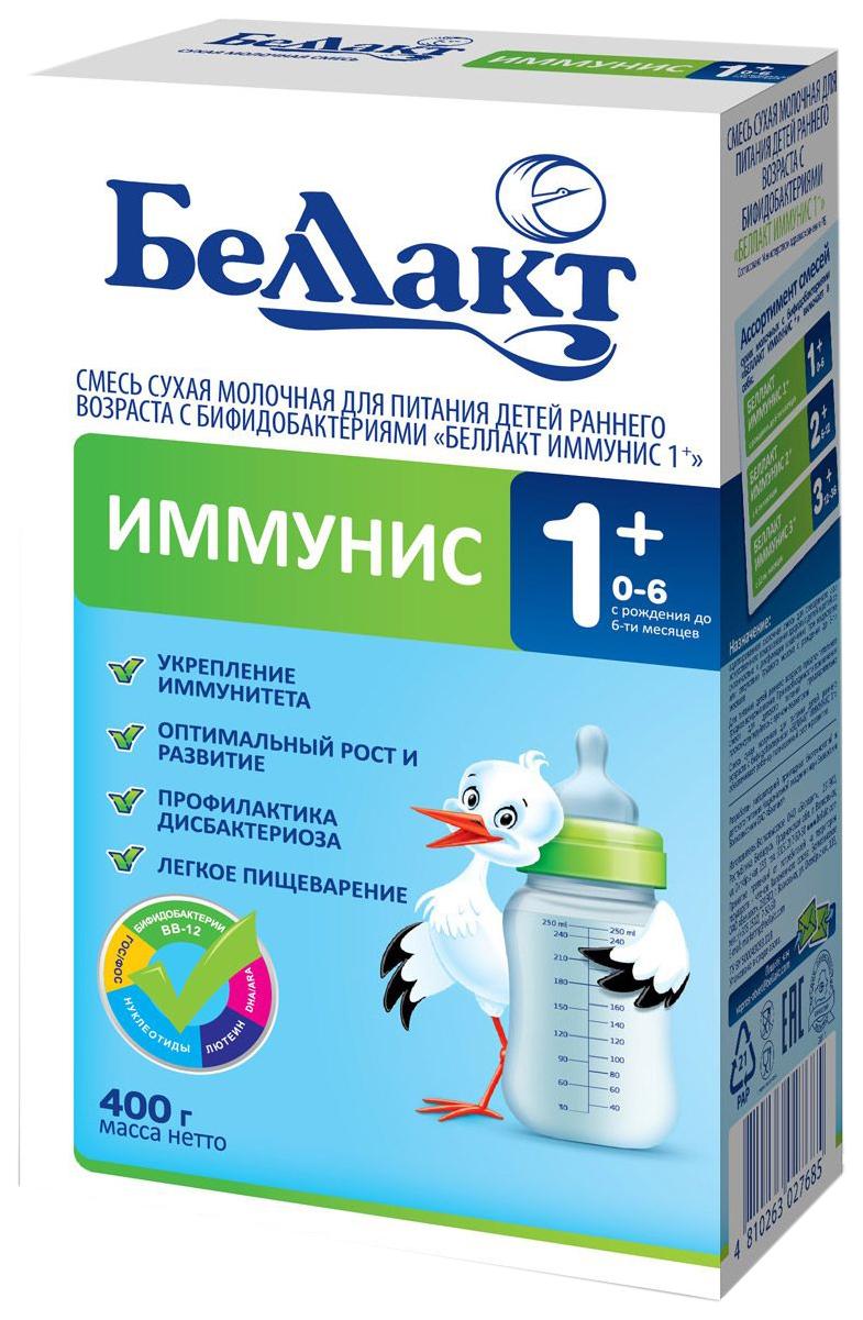 Купить Смесь сухая молочная Беллакт иммунис 1+ 400 /21, Детские смеси 1 (с рождения)