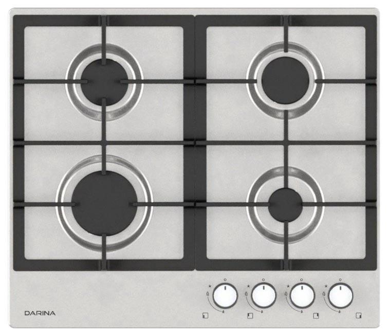 Встраиваемая варочная панель газовая Darina 1T3 BGM 341 11 X3 Silver фото