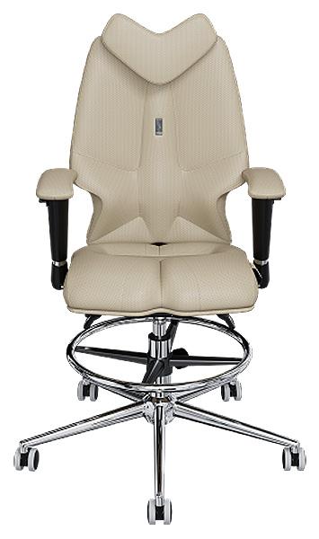 Детское кресло Kulik System Fly, экокожа перфорированная, Песочный