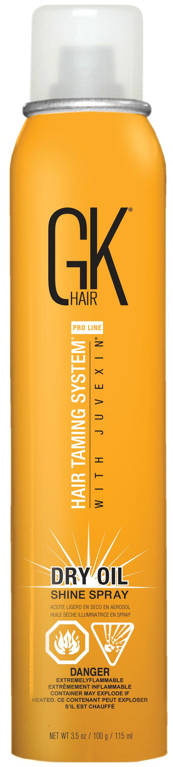 Спрей для волос Global Keratin Dry Oil Shine