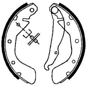 Тормозные колодки дисковые DELPHI LS1621 фото