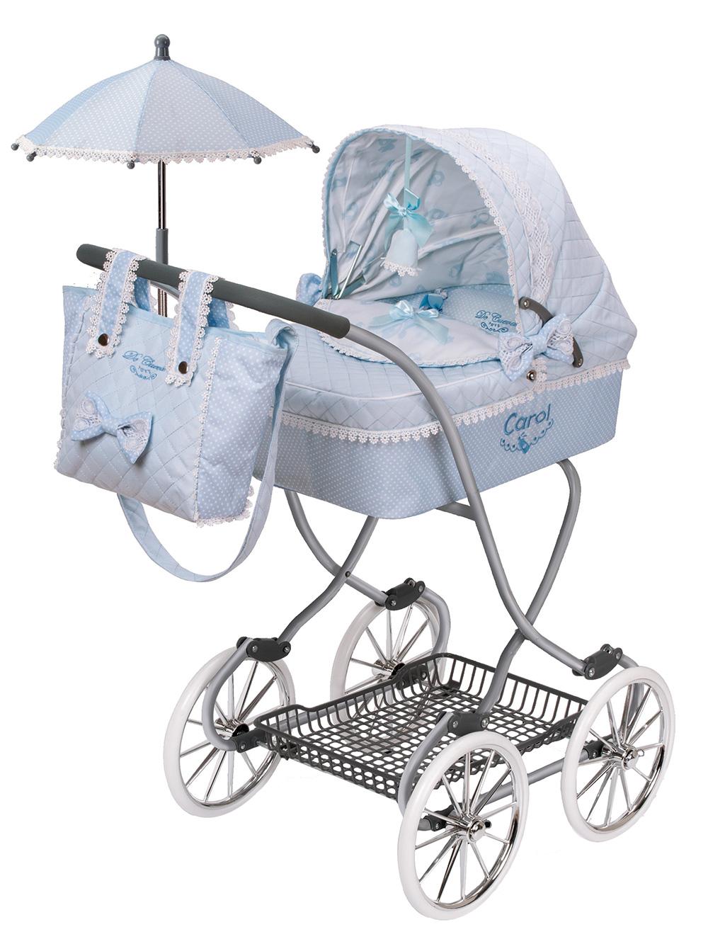 Купить Коляска для кукол DeCuevas с сумкой и зонтиком Кэрол 90 см, Коляски для кукол