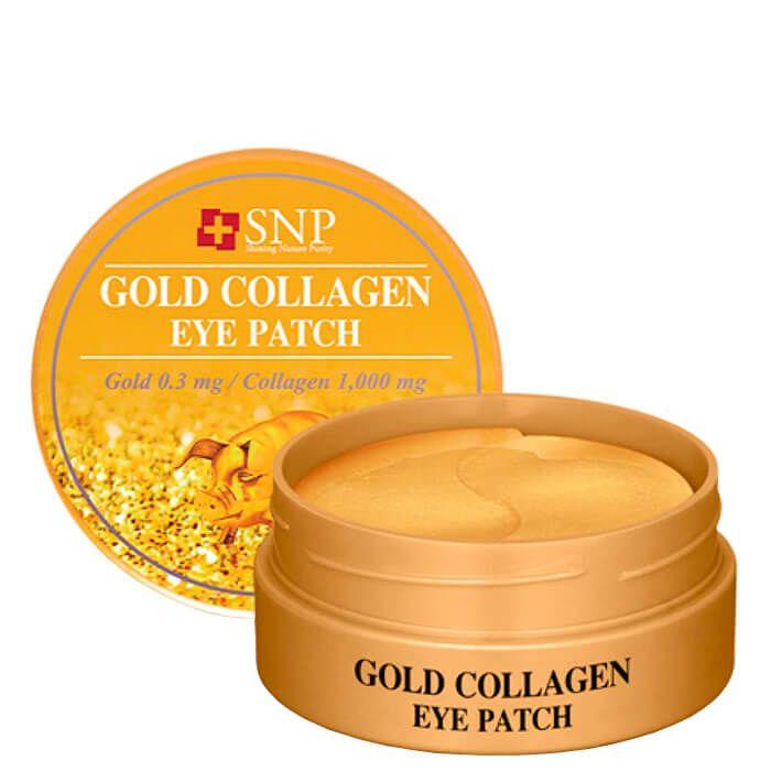 Купить Гидрогелевые патчи Snp С золотом и коллагеном Gold Collagen Eye Patch, 60 шт